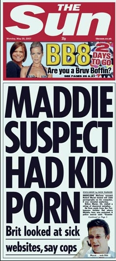 The Sun - the McCanns favourite media outlet 0,,2007241133,00-738031